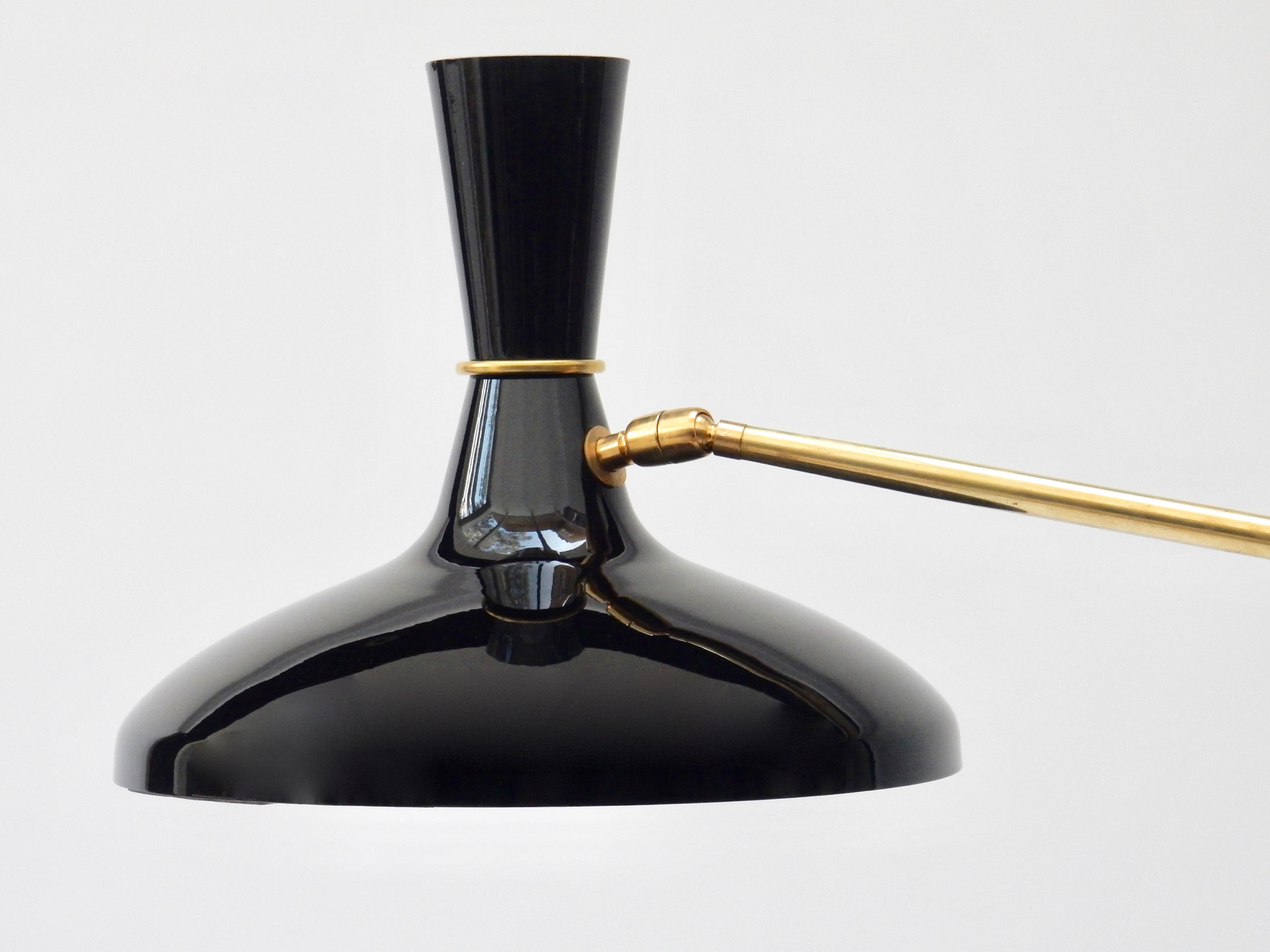 Sold - Italian Brass Floor Lamp
